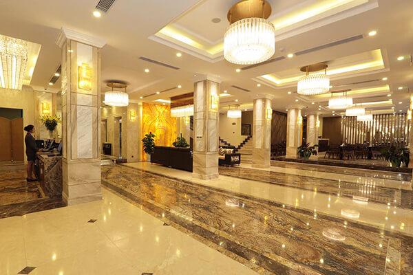 Giải pháp chiếu sáng khách sạn | An Phước Facade