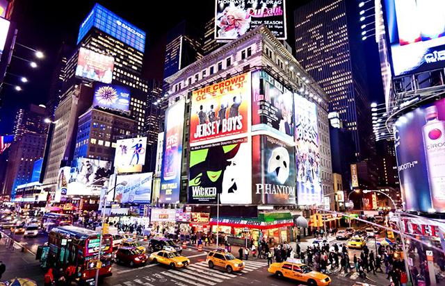Màn hình LED xuât hiện ở mọi nơi trong đô thị hiện đại