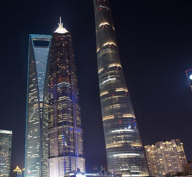 Tháp đôi thượng hải trở thành biểu tượng của thành phố -1