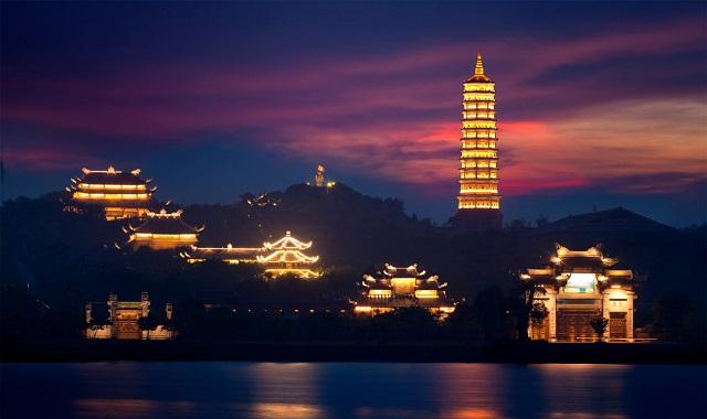 Nghệ thuật chiếu sáng kiến trúc đình chùa